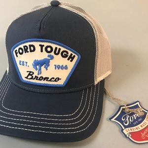 Vintage Ford Tough Mesh SnapBack Trucker Hat